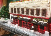 Smith's Bakery salutes Gus' Pub through gingerbread