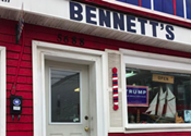 Halifax barbershop shows support for Donald Trump