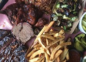Grill crush at Bearly's