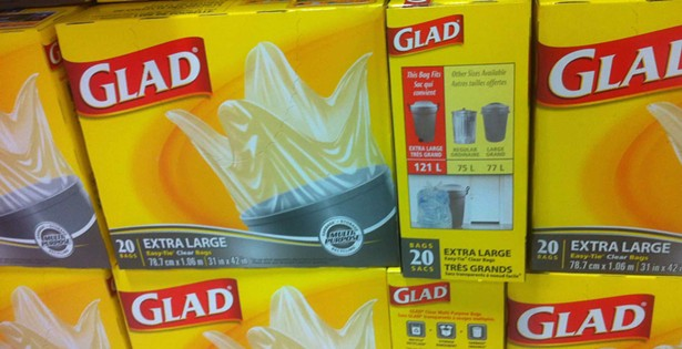 Price check: Who's selling the cheapest clear garbage bags?