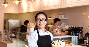 Where I Work: Creamy Rainbow Bakery and Cafe