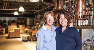 Where I work:  Arla Johnson and Julie Shore