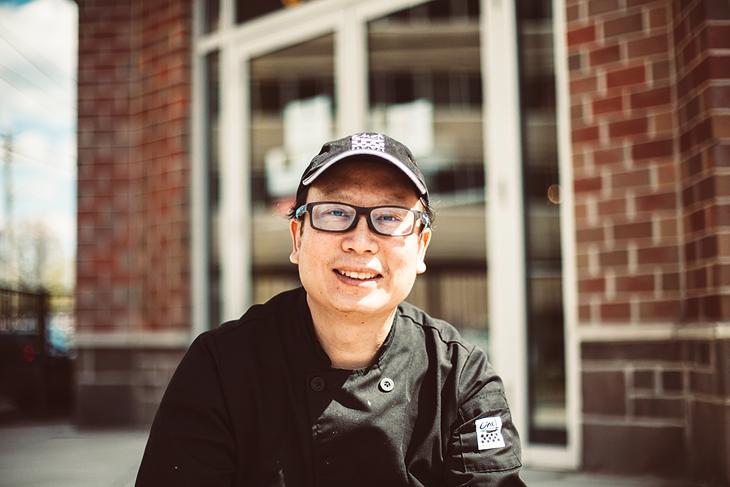The Bangkok born chef of Kajohn Thai Restaurant