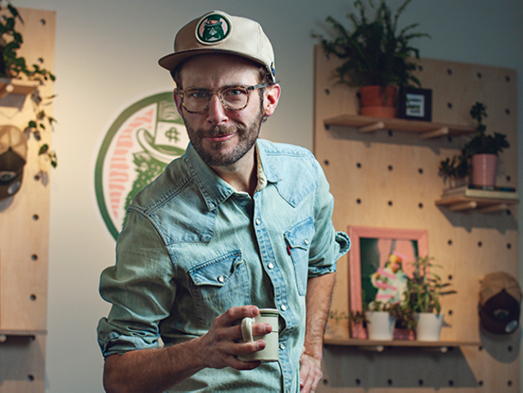 Drew Voegeli is your friendly neighbourhood restaurateur at the Cheeky Neighbour Diner.