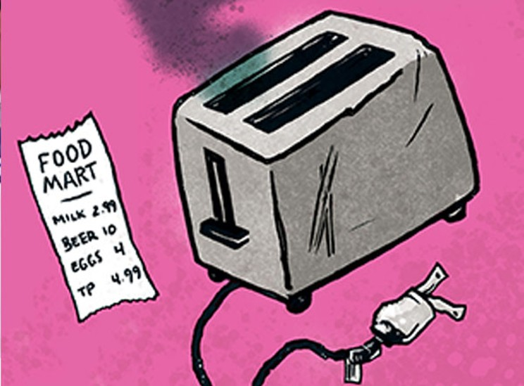 A broken toaster is the gift that keeps on giving—a hint. JOE NEWTON