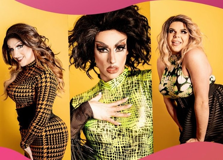 The Haus of Rivers hosts an online drag party this Saturday. DANIEL DOMINIC
