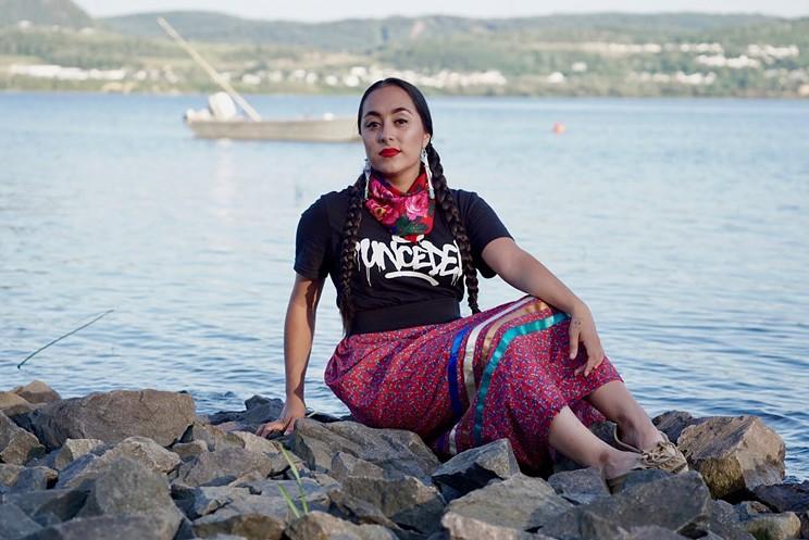 Killa Atencio is a creative entrepreneur and cultural consultant originally from Listuguj First Nation in Quebec.
