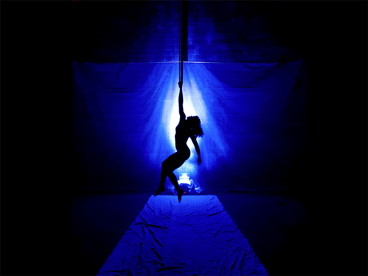 Breaking Circus will debut a new work—Silhousoniques—at the festival's marquee Program events.