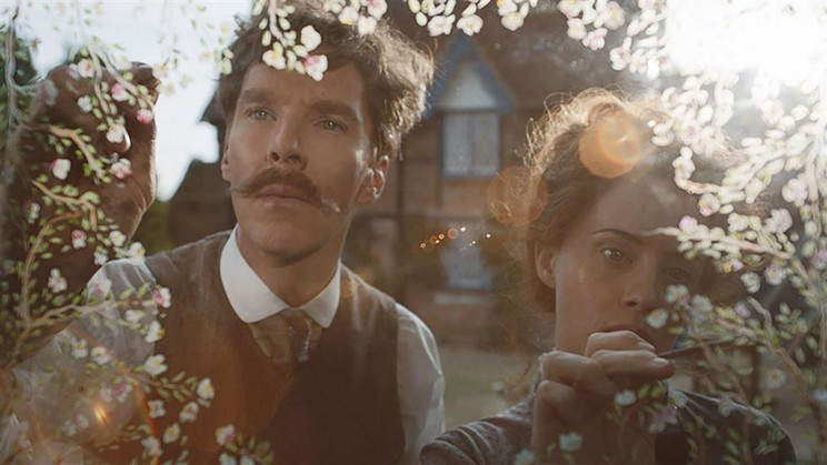 Benedict Cumberbatch and Claire Foy star in The Electrical Life of Louis Wain.