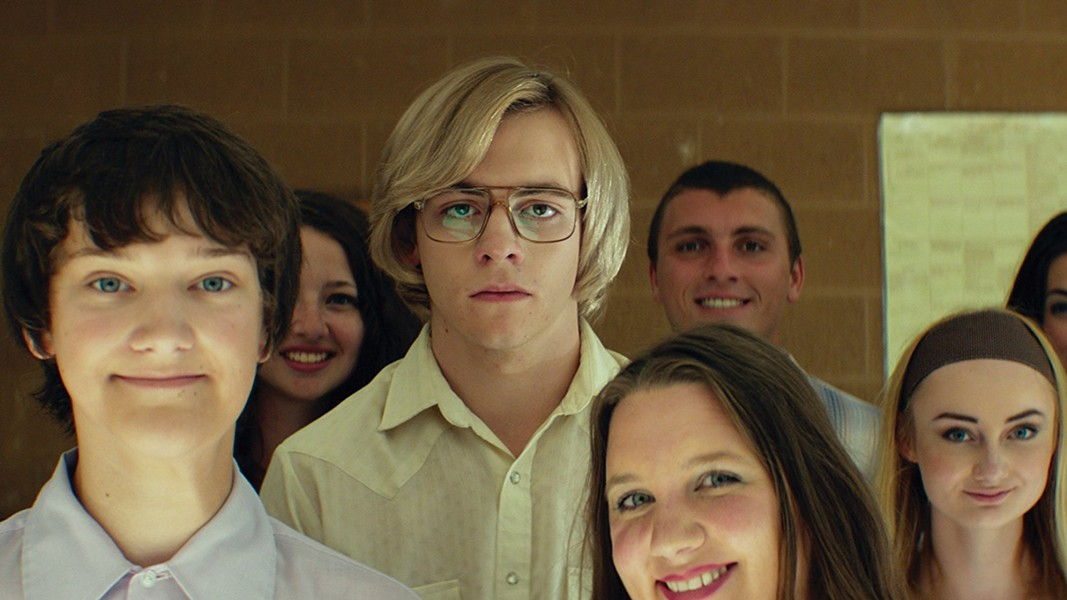 Ross Lynch as Jeffrey Dahmer. - VIA IMDB