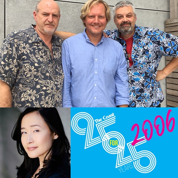 Brian Heighton, Jonathan Torrens, Jamie Bradley and Benita Ha join us this week on the pod. - THE COAST