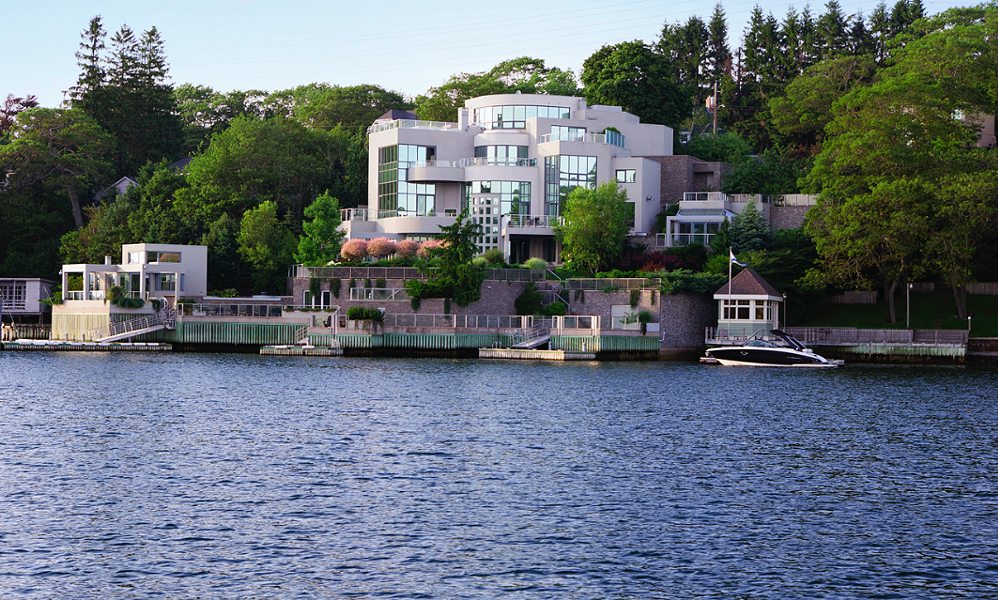 Big ol' house on the Northwest Arm. You'll be able to see it from the ferry. - VIA SUPERCITY REALTY