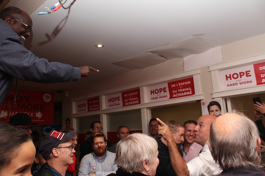 Andy Fillmore will keep his federal seat in Ottawa for the Halifax riding. - VICTORIA WALTON