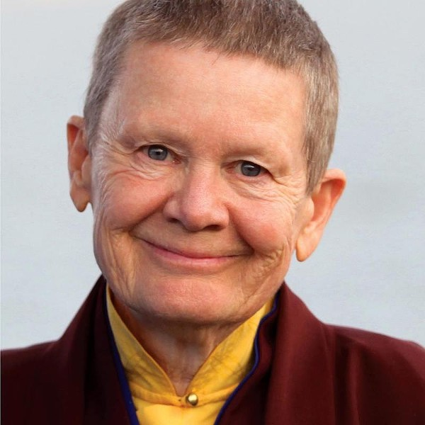 """In her resignation letter, Pema Chödrön asks the Shambhala board to find a """"path forward"""" with accountability for the years of sexual abuses. - VIA PEMA CHODRON FACEBOOK PAGE"""