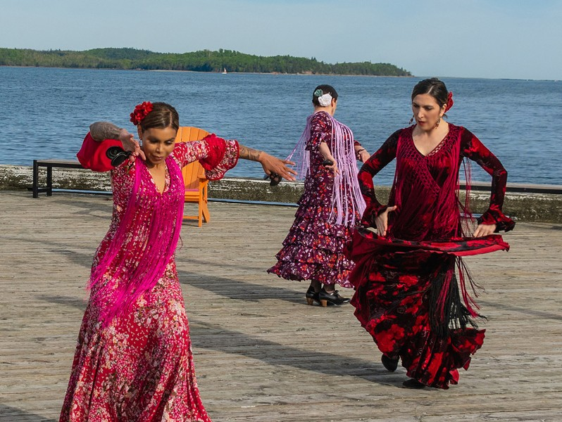 This could be you if you hit up Flamenco Dancing on The Waterfront. - MOF DAIF