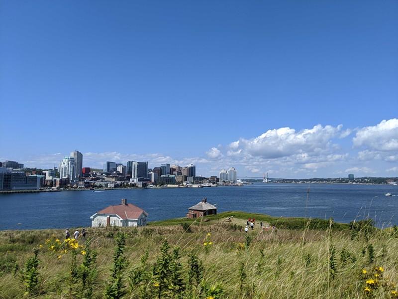 Stunning views of Halifax await at Georges Island National Historic Site. - CAORA MCKENNA