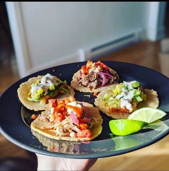 From pollo to carnita and even brussels sprouts, Wave Tacos isn't limited on options. - WAVE TACOS