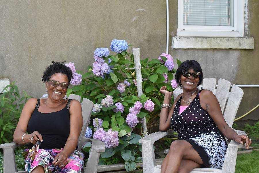 Cecelia Gray (left) and Cynthia Colley-Murray have been planning a tea party to honour those in Halifax's African Nova Scotian community since COVID-19 started. - CAORA MCKENNA