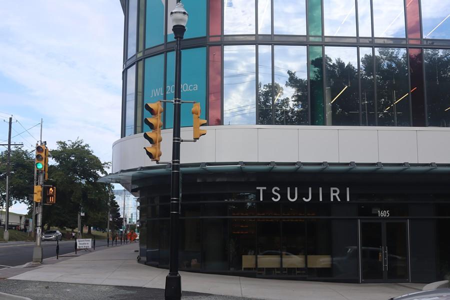 The YMCA isn't open yet but their ground-level tenant Tsujiri is ready to go. - VICTORIA WALTON