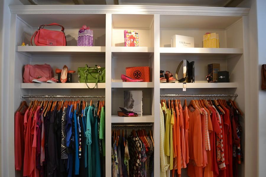 Colour block your way to Brilliant Boutique - JESSICA FLOWER