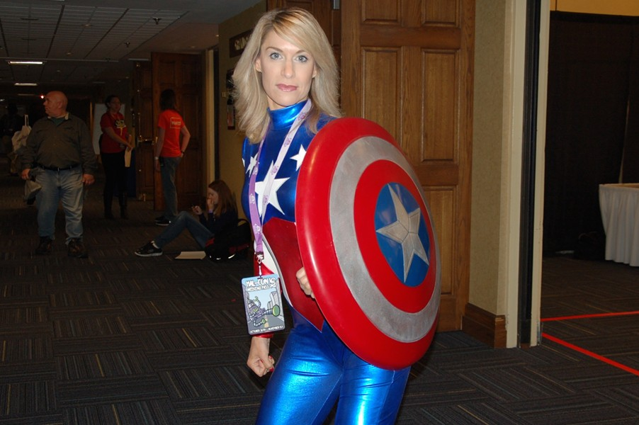 Captain America - ADRIA YOUNG
