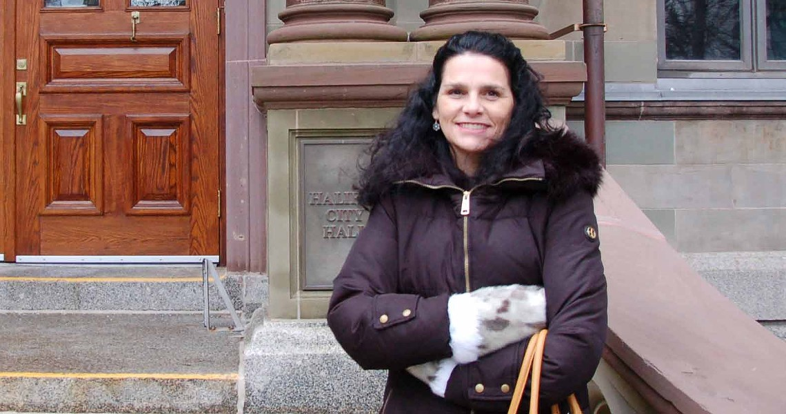 Pamela Glode Desrochers is the executive director of the Mi'kmaw Native Friendship Centre. She is a Mi'kmaw woman and a Millbrook band member. She has worked at the Centre for the last 23 years and considers herself to be an urban aboriginal community member. - THE COAST