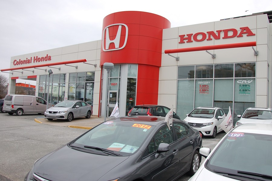 Rob Steele's new Honda dealership on Robie Street. - THE COAST