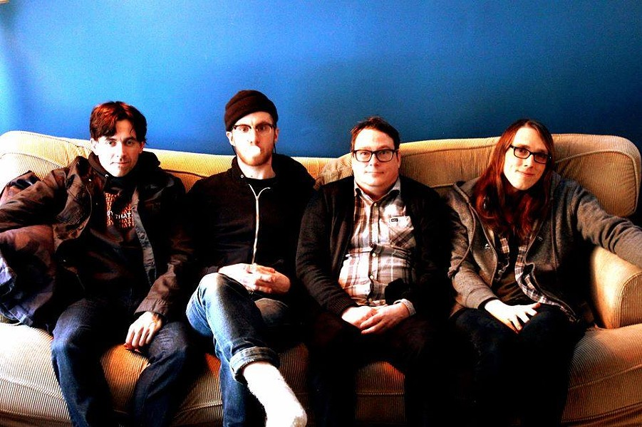 Halifax punk-rockers Weekend Dads celebrate their latest EP (see number 1). - HEATHER GRANT