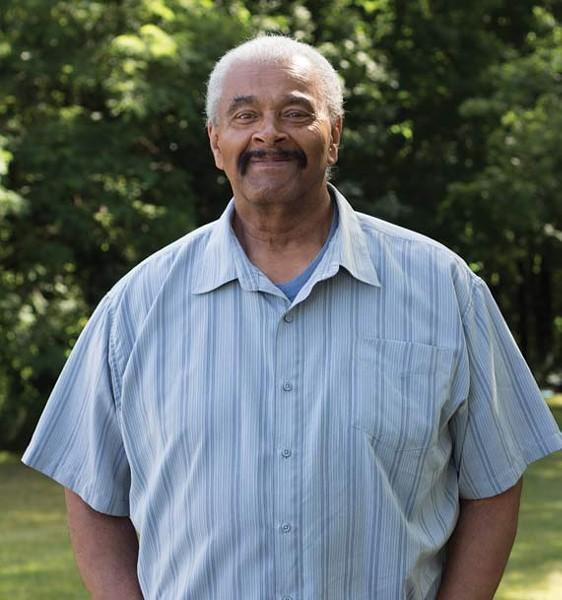 "Chris Shepherd, now living in Toronto, was one of a ""handful"" of black GAE members in the '70s. - SARAH PINTO"