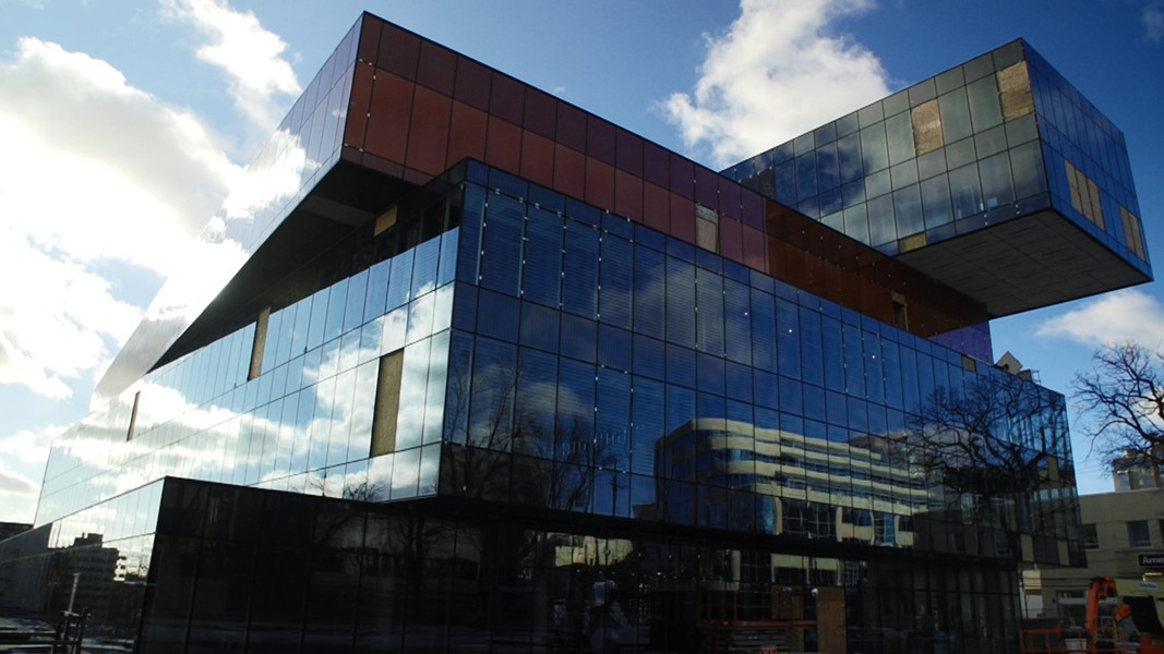The Halifax Central Library was one location named in the false bomb threats.