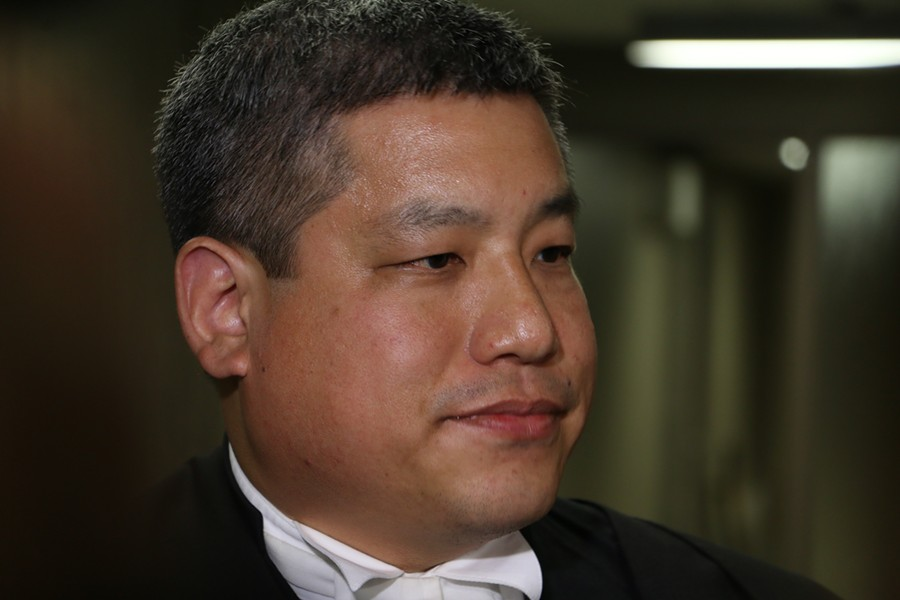 Defence lawyer Eugene Tan. - KIERANN LEAVITT