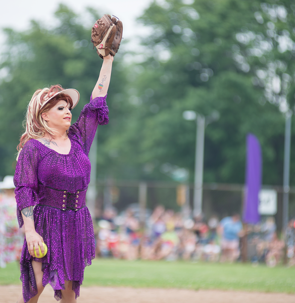 The annual Pride softball game Dykes vs Divas returns for a (style) league of their own (see 5). - BEACON HEAD STUDIO
