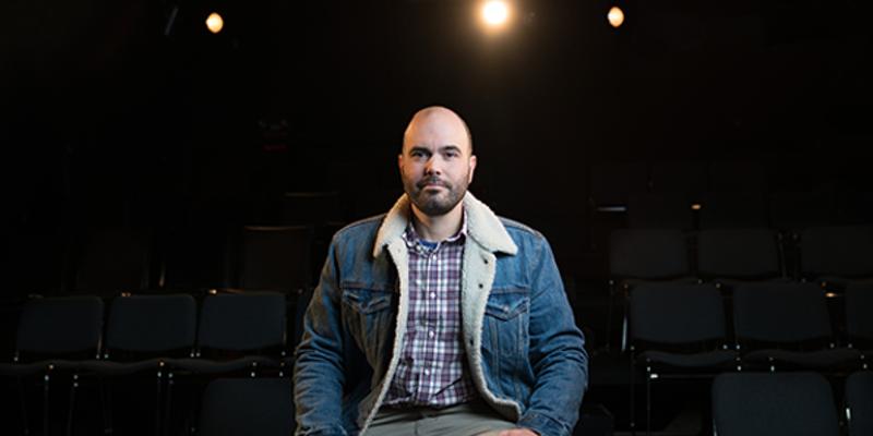 "The Bus Stop Theatre Co-operative's executive director, Sébastien Labelle, hopes the prize isn't ""a send-off award."""