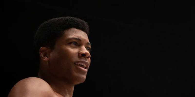 Like the rest of us, the Black Reel Awards were knocked out by Eli Goree's Cassius Clay in One Night In Miami.