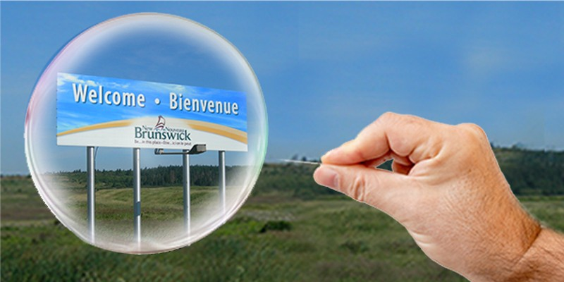 """""""We just can't take the same risk New Brunswick is taking right now,"""" said premier Iain Rankin. THE COAST"""