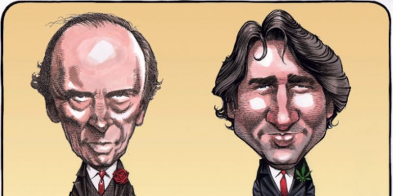 Bruce MacKinnon's Trudeaus