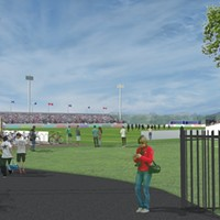 What the completed stadium is supposed to look like.