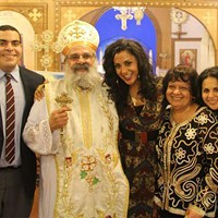 """It's not about receiving, it's about giving,"" says Verena Rizg of Coptic Christmas"