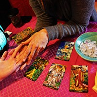 Tarot is one of the workshops that will be on offer at The Neighbourhood Witch after expansion.
