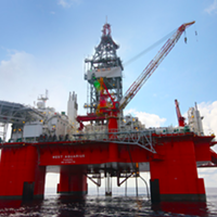 The West Aquarius will be doing exploratory drilling offshore from Nova Scotia.