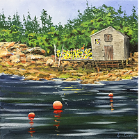 """Northwest Cove, NS"" Nora Gross."