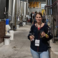 Robyn Warrier at the Florida Craft Brewers Conference