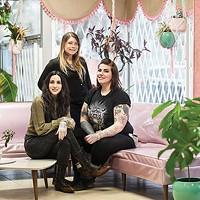 Tasha Tonks, Lacey Cormier & Helena Darling