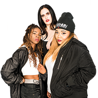 "Haviah Mighty, Lex Leosis and and Keysha Fanfair are ""three powerful MCs who bring something different."""