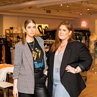 Marianne Thomson and Lauren Wambolt in their Lower Water Street store.