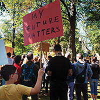 Haligonians joined over 4 million people worldwide who marched for climate in September.