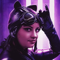 Kristina Gillis' first foray into cosplay? Stepping into the iconic suit of Catwoman.