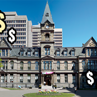 Small tax rate increase, more debt to fund all of Halifax's hopes and dreams for 2020/21