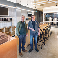 Fill your growlers at John (left) and Mike Allen's newest Propeller location, opening soon on Quinpool.