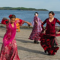 This could be you if you hit up Flamenco Dancing on The Waterfront.